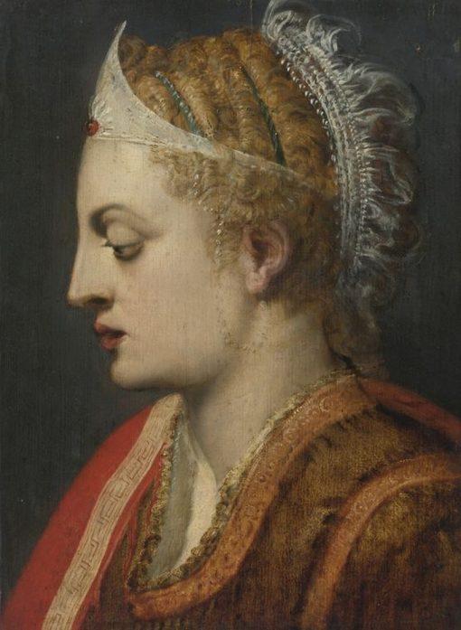 Portrait of a Woman   Frans Floris   Oil Painting