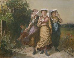 The Bal Maidens | Emily Mary Osborn | Oil Painting