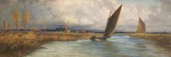 Sailing Barges | Emily Mary Osborn | Oil Painting