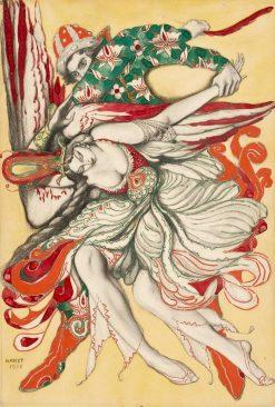 Prince Ivan Capturing the Firebird | Leon Bakst | Oil Painting