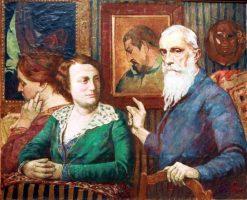 Hommage a Gauguin | Georges-Daniel de Monfreid | Oil Painting