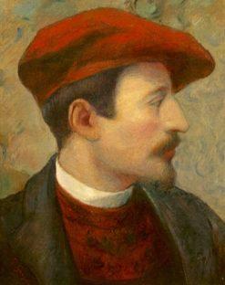 Portrait of Gauguin | Georges-Daniel de Monfreid | Oil Painting