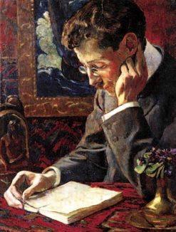 Portrait de Victor Segalen | Georges-Daniel de Monfreid | Oil Painting