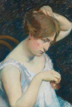 Femme a la barrette | Georges-Daniel de Monfreid | Oil Painting