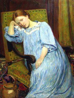 Portrait de la femme de lartiste | Georges-Daniel de Monfreid | Oil Painting