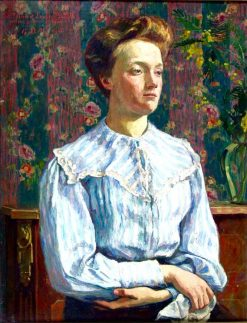 Portrait of Felicie Belfis | Georges-Daniel de Monfreid | Oil Painting