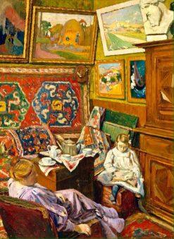 Le the dans latelier | Georges-Daniel de Monfreid | Oil Painting