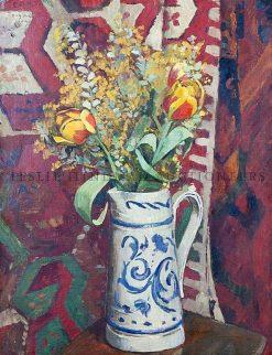 Vase de tulipes et mimosa | Georges-Daniel de Monfreid | Oil Painting