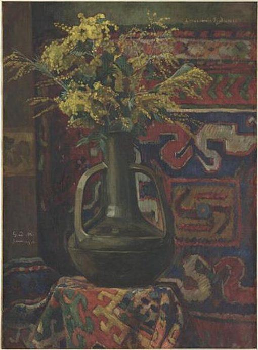 Bouquet de mimosa | Georges-Daniel de Monfreid | Oil Painting