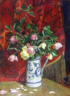 Still Life with Roses | Georges-Daniel de Monfreid | Oil Painting