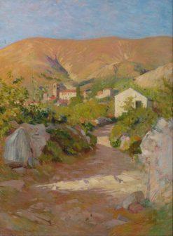Paysage de Corneilla de Conflent | Georges-Daniel de Monfreid | Oil Painting