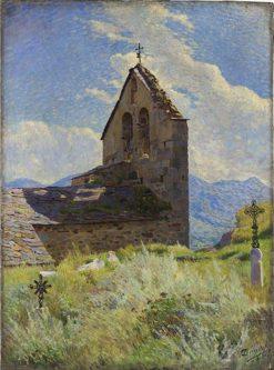 Leglise dAngoustrine | Georges-Daniel de Monfreid | Oil Painting