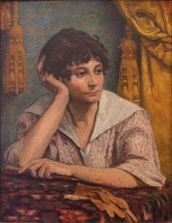 Portrait de Mlle Marcelle Galien | Georges-Daniel de Monfreid | Oil Painting