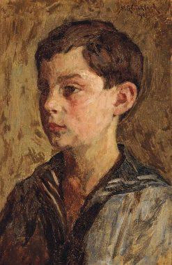 Portrait of a Boy | Simon Glucklich | Oil Painting
