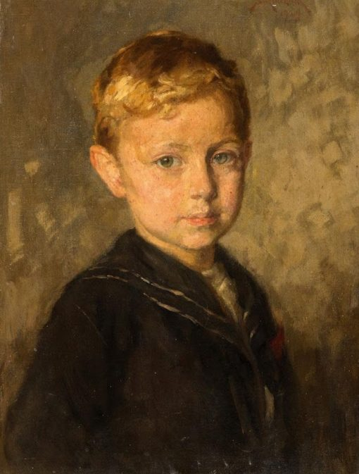 Portrait of a Boy | Simon Glucklich | Oil Painting