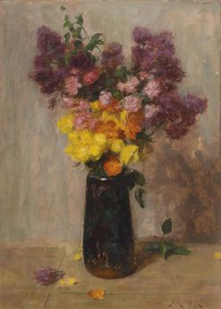 Still Life with Flowers | Simon Glucklich | Oil Painting