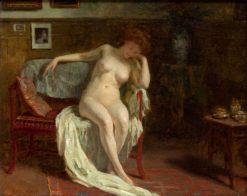 Nude | Simon Glucklich | Oil Painting