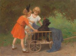 Patient Playfellow | Simon Glucklich | Oil Painting