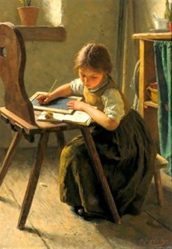 Homework | Simon Glucklich | Oil Painting
