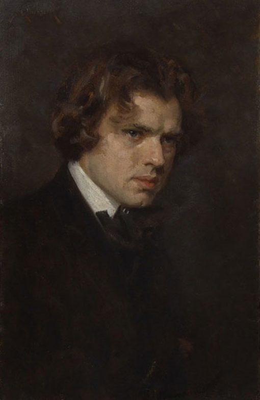 Self Portrait | Simon Glucklich | Oil Painting
