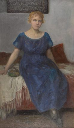 Portrait of Frau Trinkl | Simon Glucklich | Oil Painting