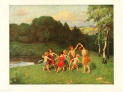 Round Dance | Simon Glucklich | Oil Painting