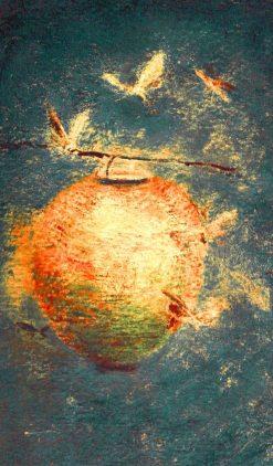 Japanese Lantern | Ralph Albert Blakelock | Oil Painting
