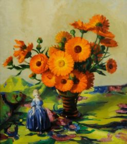 Marigolds | Edward Hartley Mooney | Oil Painting