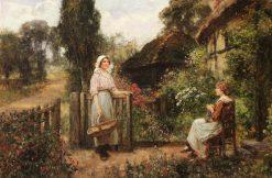 Friendly Neighbors | Henry John Yeend King | Oil Painting