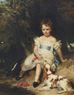 Jacob Henry Delaval Astley as a Boy | Henry William Pickersgill | Oil Painting