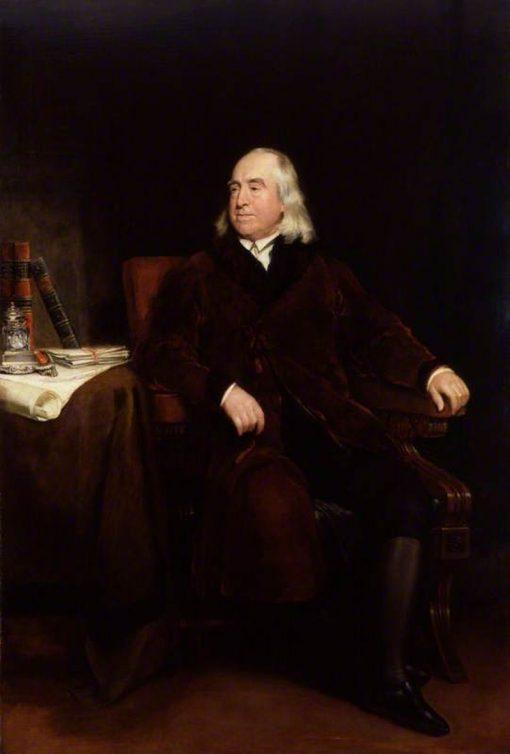 Jeremy Bentham   Henry William Pickersgill   Oil Painting
