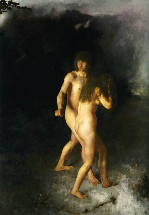 Adam and Eve | Hans Heyerdahl | Oil Painting