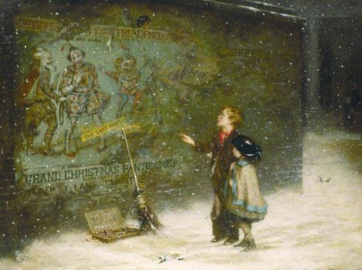 Remembering Joys That Have Passed Away | Augustus Edwin Mulready | Oil Painting