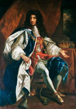 King Charles II | Thomas Hawker | Oil Painting