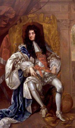 King Charles II | Thomas Hawker | Oil Painting