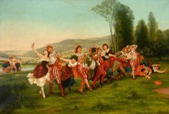 The Joyous Band | Thomas Shotter Boys | Oil Painting