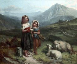 On the Welsh Hills | George Earl | Oil Painting