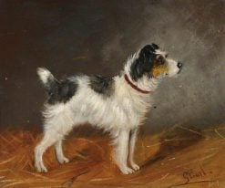 Terrier | George Earl | Oil Painting