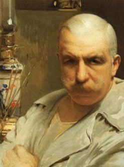 Self Portrait | Vittorio Matteo Corcos | Oil Painting