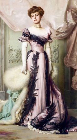 Countess Carolina Sommaruga Matteini | Vittorio Matteo Corcos | Oil Painting