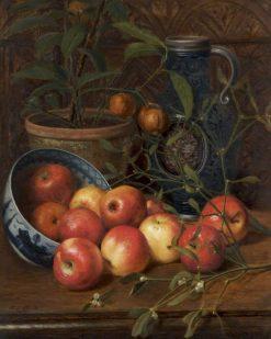 American Apples | Juliana Charlotte Shepherd | Oil Painting
