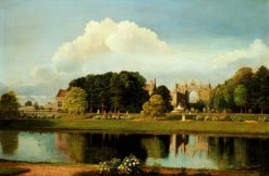 Newstead Abbey | Cornelius Varley | Oil Painting