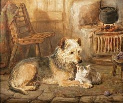 Close Companions | David George Steell | Oil Painting