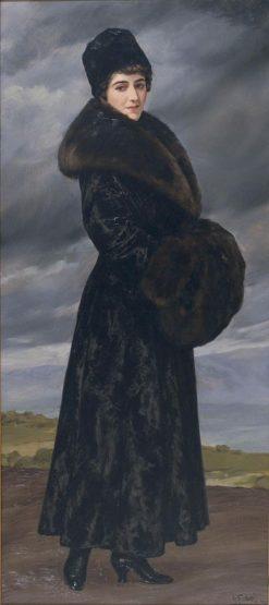 Portrait of Gloria Fabres | Antonio Maria Fabres y Costa | Oil Painting