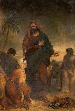 Ruth and Boaz | Henry William Pickersgill | Oil Painting