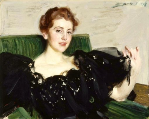 Mrs. Lucy Turner Joy   Anders Zorn   Oil Painting