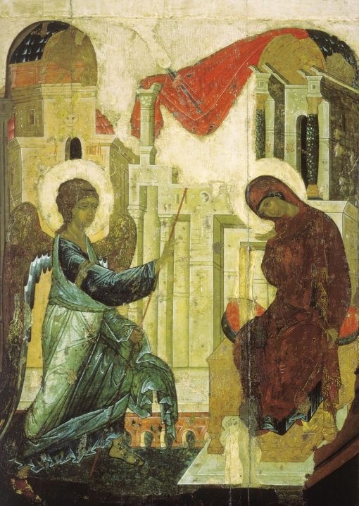 The Annunciation | Andrei Rublev | Oil Painting