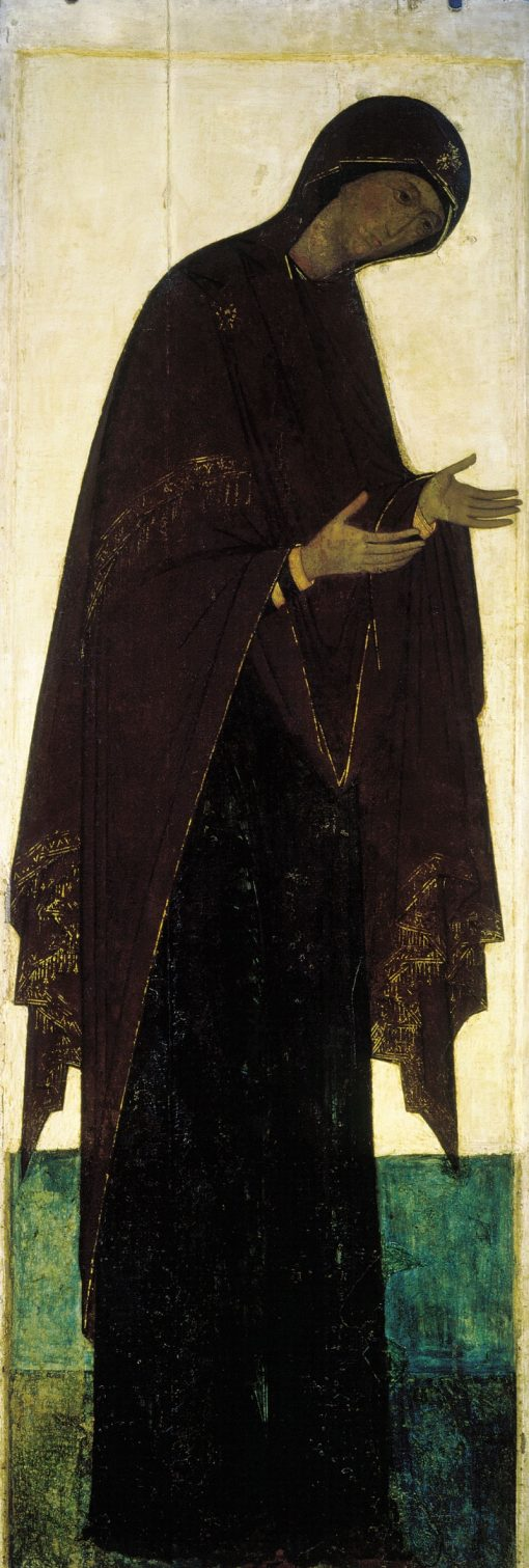 The Virgin | Andrei Rublev | Oil Painting