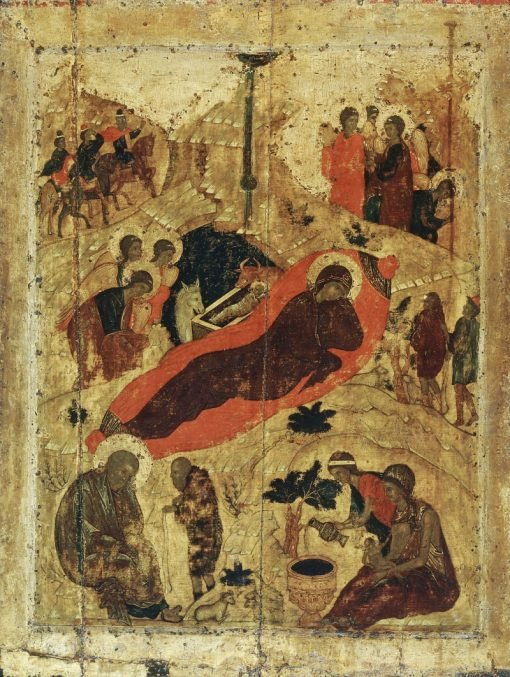 The Nativity | Andrei Rublev | Oil Painting
