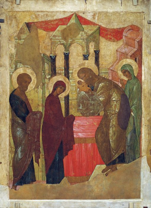 Presentation of Jesus at the Temple | Andrei Rublev | Oil Painting